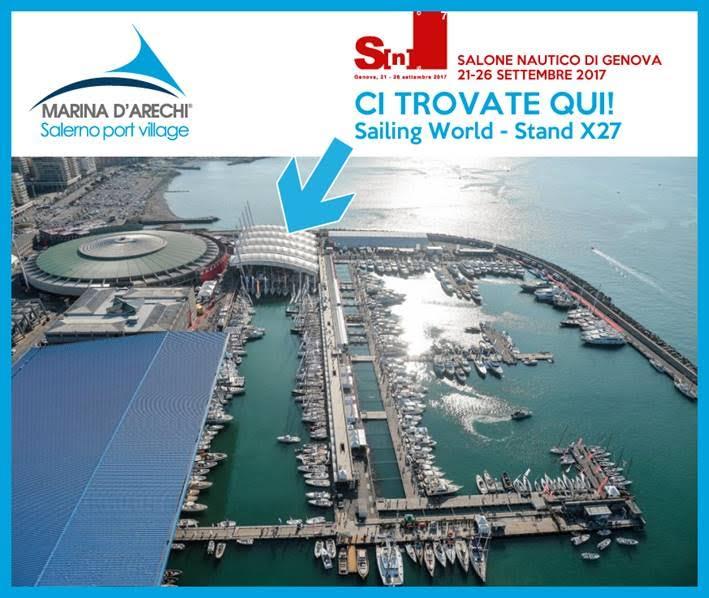 Marina d'Arechi al Salone di Genova 2017